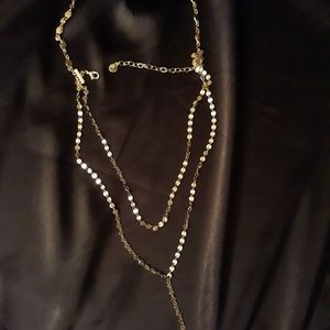 Baublebar Aimee Y choker Necklace 12""